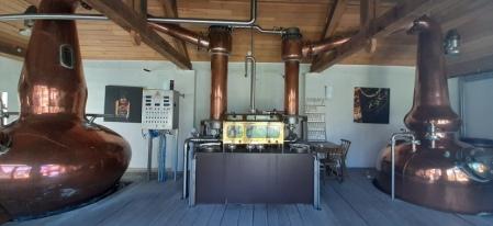 Copper pot stills molenburg